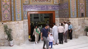 Karbala: Visit to a Shia shrine