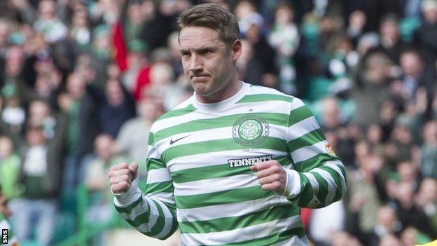 Celtic winger Kris Commons