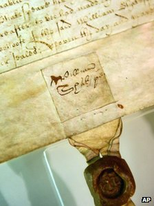 William Shakespeare's signature