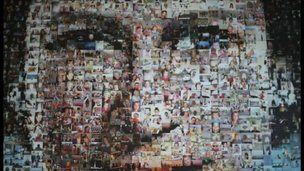 Diamond Jubilee photo mosaic