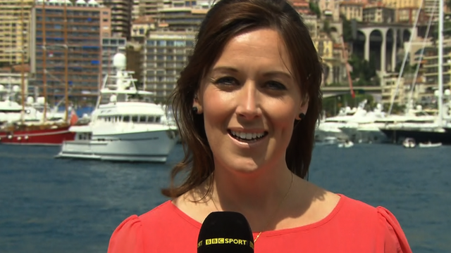 Inside F1 presenter Lee McKenzie
