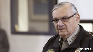 Maricopa County Sheriff Joe Arpaio (12 April 2013)