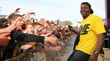 Dizzee Rascal opens main stage in Londonderry