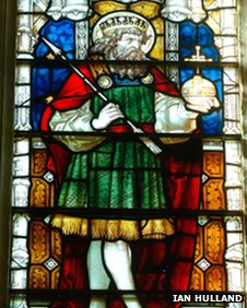 St Edmund window, St Edmundsbury Cathedral