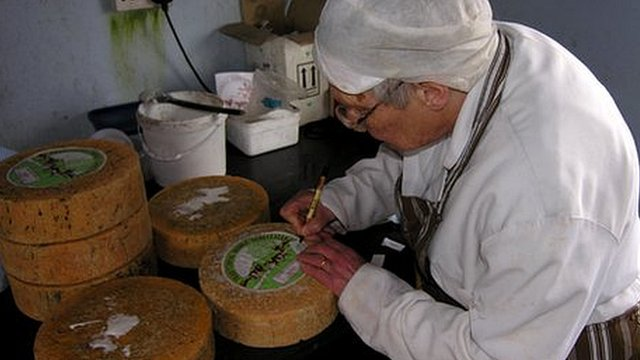 VIDEO: Cheese-maker warned over hill roll...