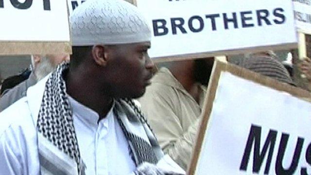 Woolwich attack suspect Michael Adebolajo in 2007