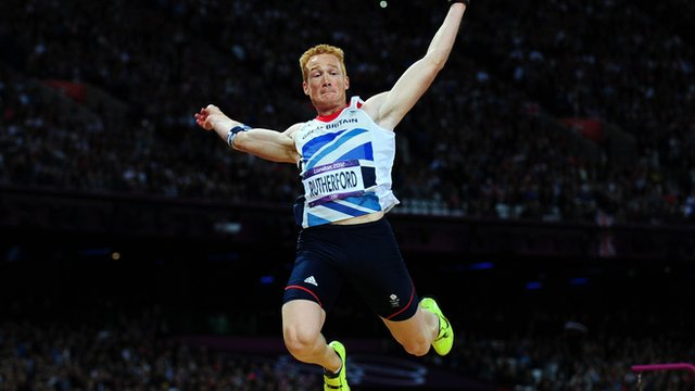 Greg Rutherford's street race