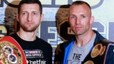 Carl Froch (l) and Mikkel Kessler