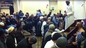 Friday Prayers at Woolwich mosque