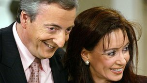 Nestor and Cristina Kirchner in 2003