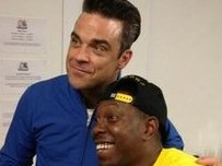 Robbie Williams and Dizzee Rascal