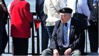 Veterans of the Battle of the Atlantic at Pier Head.