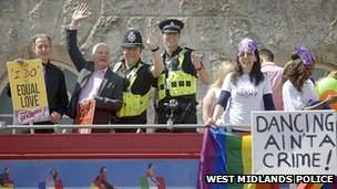 West Midlands Police at Birmingham Pride