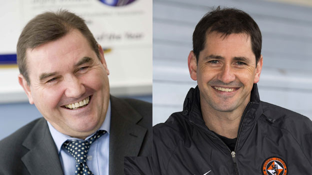 Jackie McNamara Sr and Jr