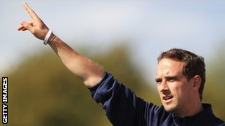 Bristol Academy coach Mark Sampson