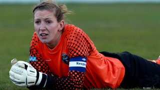 Bristol Academy goalkeeper Siobhan Chamberlain