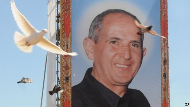 VIDEO: 'Mafia martyr' Puglisi beatified...