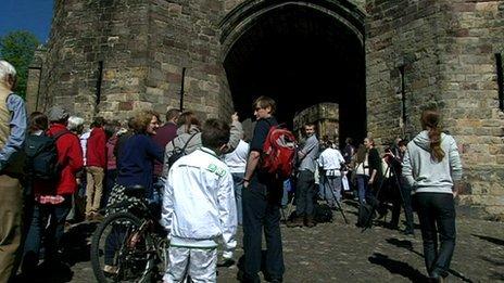 Lancaster Castle open day
