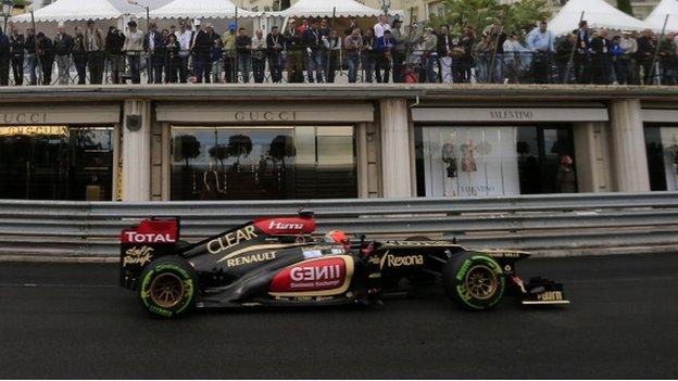 Kimi Raikkonen at Monaco
