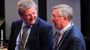 Roy Hodgson & Sir Alex Ferguson