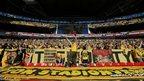 Borussia Dortmund fans Wembley