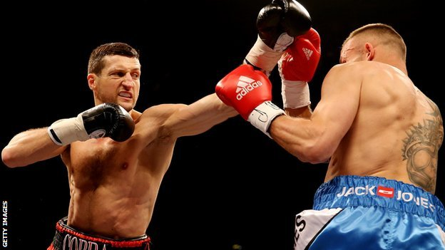 Froch wins to retain IBF world title...