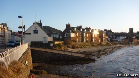 North Berwick seafront