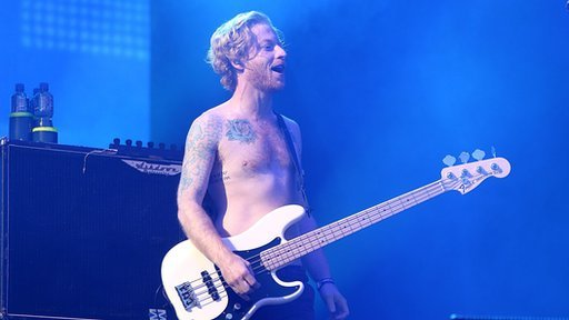 James Johnston from Biffy Clyro