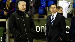Inverness manager Terry Butcher and Ross County boss Derek Adams
