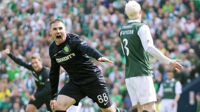 Hibernian v Celtic
