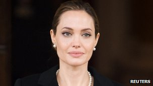 Angelina Jolie in London (April 2013)