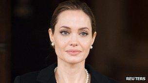 Angelina Jolie in London (April 2013)