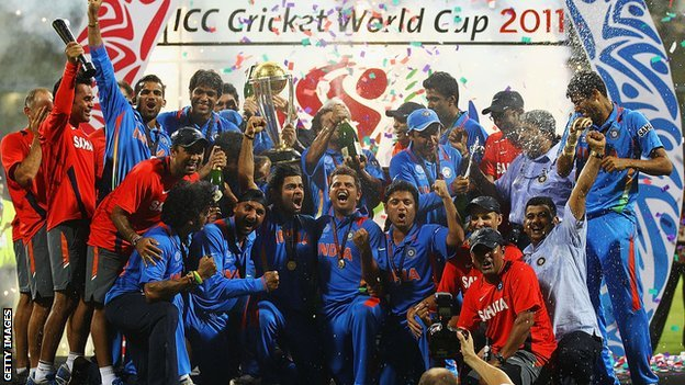 India's World Cup winning team of 2011