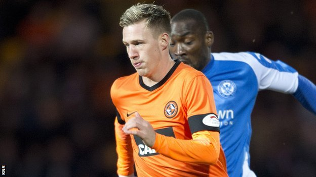 Dundee United full-back Barry Douglas