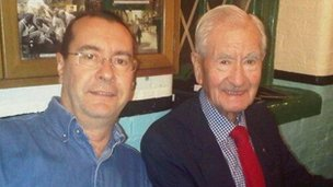 Tim Ball and Bill Pertwee taken in 2011