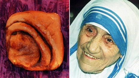 Nun bun and Mother Teresa