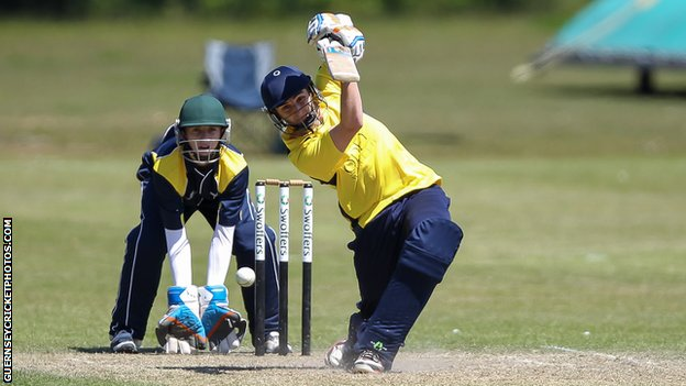 James Wilkes-Green bats for Odey Ors in their win over Wanderers