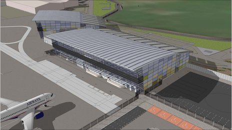 Lydd Airport terminal design