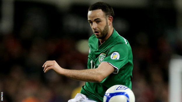 Stoke full-back Marc Wilson
