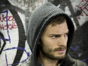Jamie Dornan as serial killer Paul Spector