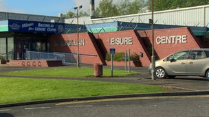 Ballysillan Leisure Centre was opened for people moved out of their homes