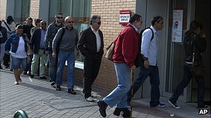 Madrid jobs queue