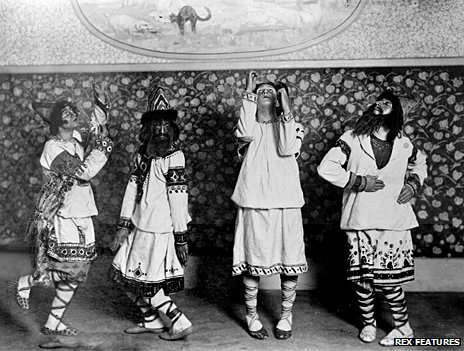 1913 production of The Rite of Spring