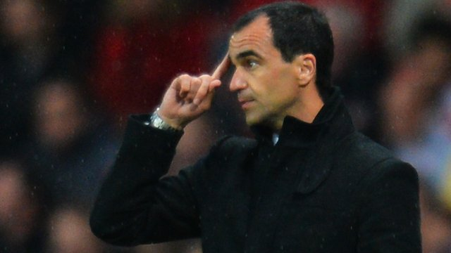 Former Wigan manager Roberto Martinez