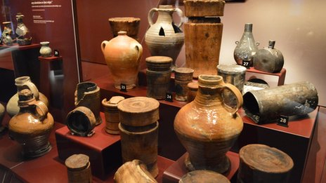 Jars from the Mary Rose
