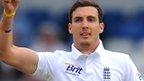 England bowler Steven Finn