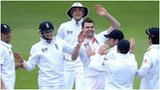 England celebrate after securing the final New Zealand wicket