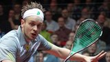 Action from the British Open Squash Championship