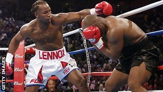 Lenox Lewis v Mike Tyson