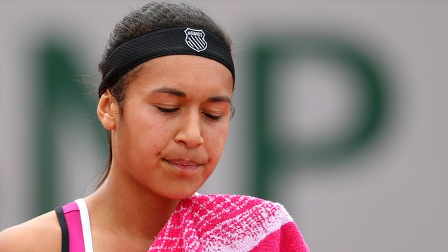 British number two Heather Watson